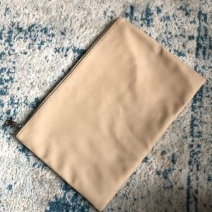 Urban Outfitters beige/tan soft structure clutch